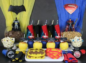 DIY Fun: Party with Batman and Superman