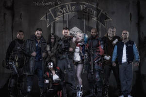 First Look: See 'Suicide Squad' Cast in Uniform, Plus Will Smith As Deadshot