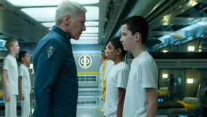 Comic-Con Hall H: Harrison Ford Returns as New Footage for 'Ender's Game,' 'Divergent' Showcases