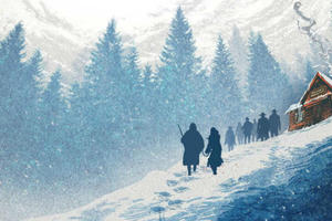 See a New Poster for 'The Hateful Eight' and Learn More from Quentin Tarantino's Comic-Con Panel