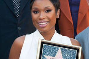 Jennifer Hudson Gets Star and Lights Up 'Black Nativity' Red Carpet