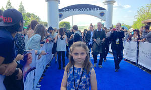Best Night Ever: A Kid's Take on the 'Tomorrowland' Premiere