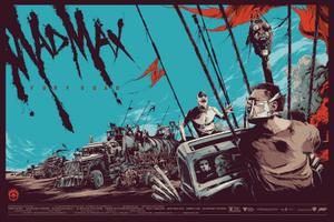 Go and Snag Yourself This Awesome 'Mad Max: Fury Road' Mondo Poster