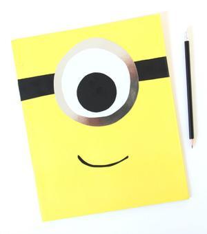 DIY: Make a Mod Minion Folder for School