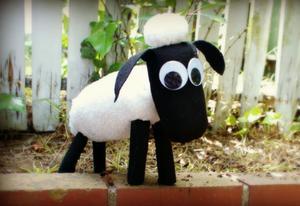 DIY Stuffed Animal Celebrates 'Shaun the Sheep'