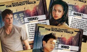 'Maze Runner: The Scorch Trials' Character Cards