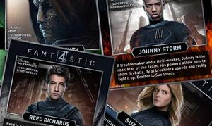 Exclusive: 'Fantastic Four' Fact Cards