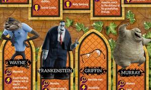 INFOGRAPHIC: Hotel Transylvania 2 Character Guide