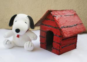 Happiness Is a Snoopy Gingerbread House