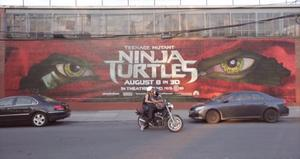 Watch: The Fascinating Inside Story Behind These 'Teenage Mutant Ninja Turtles' Paintings