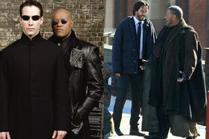News Briefs: 'Matrix' Stars Keanu Reeves and Laurence Fishburne Reunite