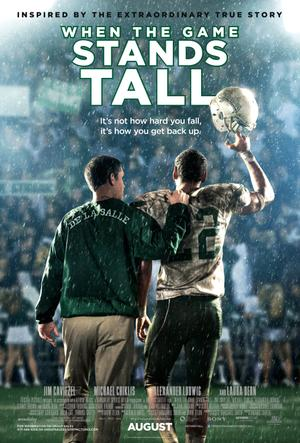 Exclusive Poster Premiere: 'When the Game Stands Tall'