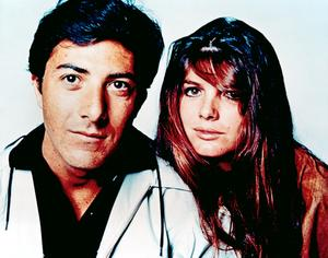 Dustin Hoffman and Katharine Ross in The Graduate