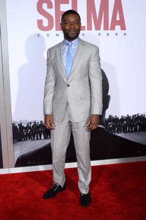 "David Oyelowo at the New York premiere of ""Selma."""