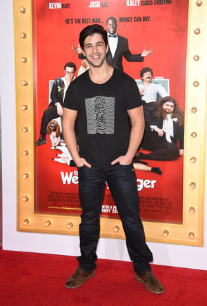 """Josh Peck at the California premiere of """"The Wedding Ringer."""""""