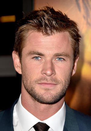 "Chris Hemsworth at the California premiere of ""Blackhat."""