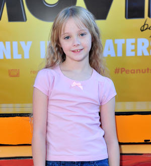 """Mariel Sheets at the California premiere of """"The Peanuts Movie."""""""