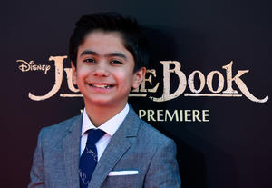 Check out the cast of the California premiere of 'The Jungle Book'