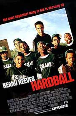 "Poster art for ""Hardball."""