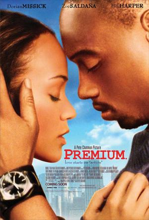 "Poster art for ""Premium."""