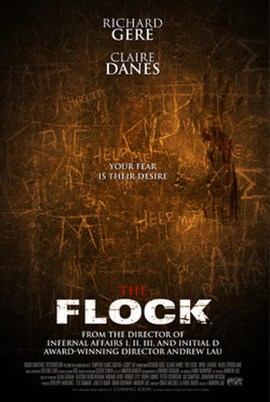 """Poster art for """"The Flock."""""""