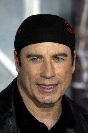 "John Travolta at the Hollywood premiere of ""Wild Hogs"""