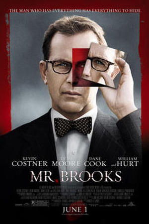 "Poster art for ""Mr. Brooks."""