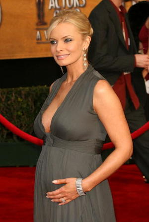 """""""DOA: Dead or Alive"""" star Jaime Pressly at the 13th Annual Screen Actors Guild Awards held at the Shrine Auditorium."""