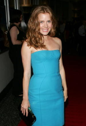 """Underdog"" star Amy Adams at the N.Y. premiere."