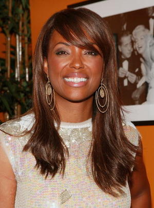 """""""Death Sentence"""" star Aisha Tyler at the after party of the N.Y. premiere."""