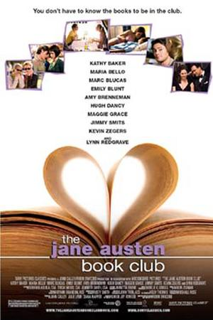 """Poster art for """"The Jane Austen Book Club."""""""