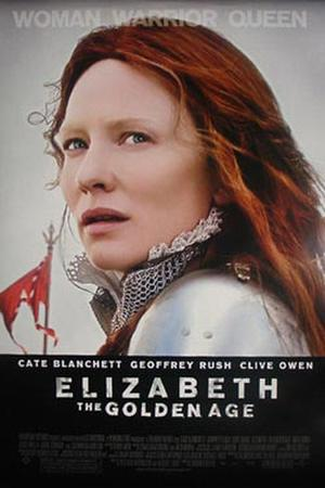 "Poster art for ""Elizabeth: The Golden Age."""