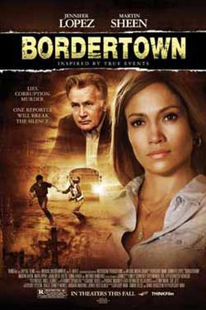 "Poster art for ""Bordertown."""