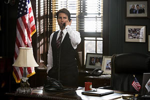 """Tom Cruise in """"Lions for Lambs."""""""