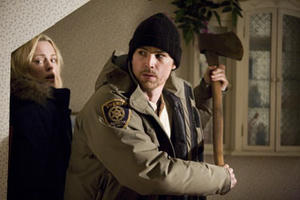 "Melissa George and Josh Hartnett in ""30 Days of Night."""