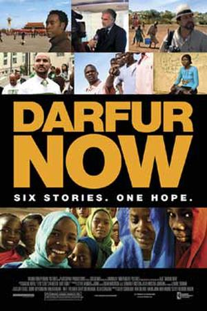 "Poster art for ""Darfur Now."""