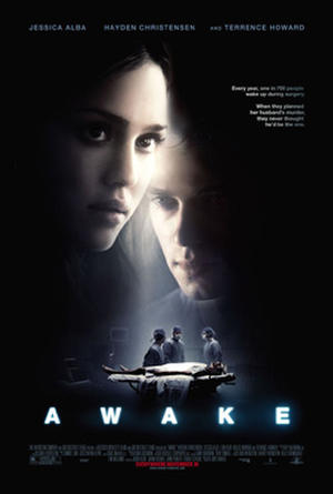 "Poster art for ""Awake."""