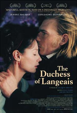 "Poster art for ""The Duchess of Langeais."""