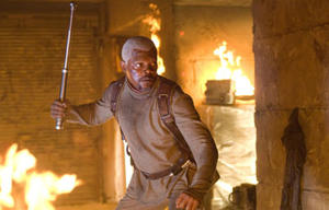 "Samuel L. Jackson in ""Jumper."""