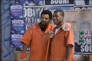 "Ice Cube and Tracy Morgan in ""First Sunday."""