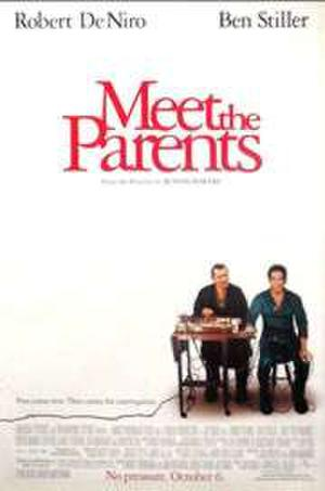 "Poster art for ""Meet the Parents."""