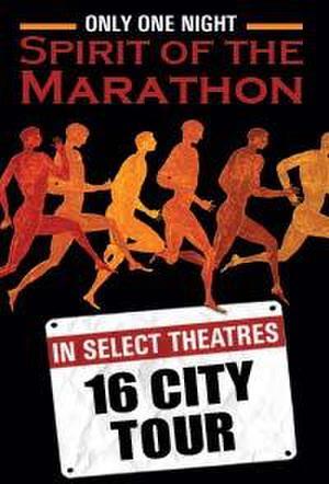 """Poster art for """"Spirit of the Marathon."""""""
