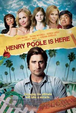 """Poster art for """"Henry Poole is Here."""""""