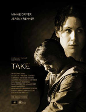 "Poster art for ""Take."""