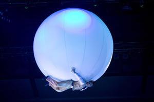 """A scene from """"Cirque Du Soleil: Delirium."""""""