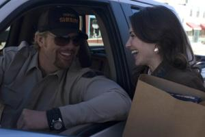 """Toby Keith as Rack and Claire Forlani as Annie in """"Beer for My Horses."""""""