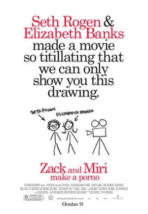 "Poster art for ""Zack and Miri Make a Porno."""