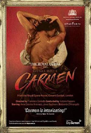 """Poster art for """"Carmen."""""""