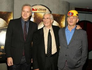 """Tim Robbins, Martin Landau and Bill Murray at the New York premiere of """"City of Ember."""""""