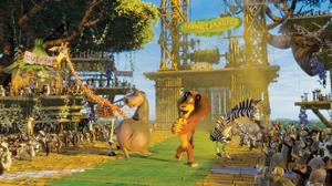 "A scene from ""Madagascar: Escape 2 Africa: The IMAX Experience."""